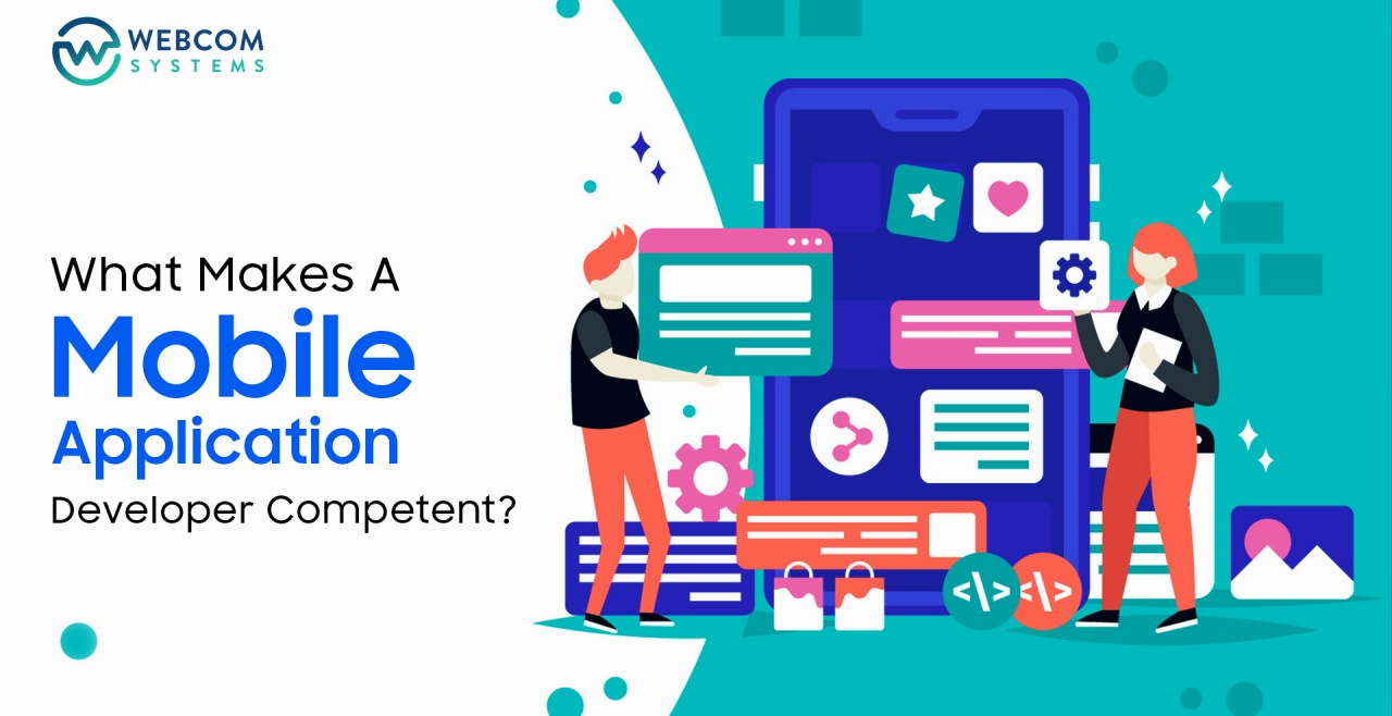 What Makes A Mobile Application Developer Competent?