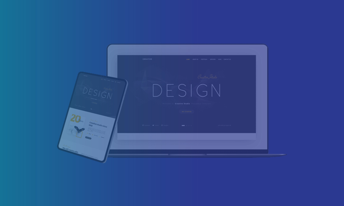 website designing slider